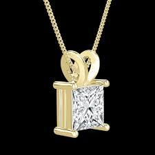 details about valentine s enhanced diamond pendant 1 2 ct princess d vs2 14k white gold