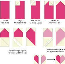 Patchwork Hearts Quilt Block Pattern & Heart Quilt Block Pattern Adamdwight.com