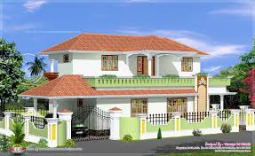 Ccr Home Design Simple 4 Bed Room Kerala Style House Kerala Home Design