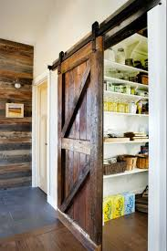 a sliding barn door to the pantry kitchen inspiration the kitchn