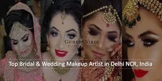 famous bridal makeup artists in delhi