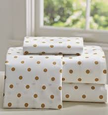 white and gold polka dot sheets.  Polka Love These Gold Dotted Bed Sheets But I Need Them They Would Be Perfect  For The And Pink Room Intended White And Gold Polka Dot Sheets I