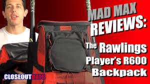 Closeoutbats.com Rawlings <b>Player's Backpacks</b> R600 Overview ...