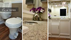 Fancy Flush VIP Luxury Restroom Trailer Rental 4040FANCY Fascinating Trailer Bathroom Rental