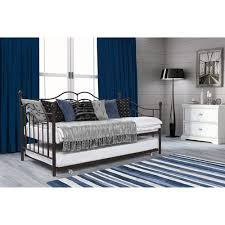 Tokyo Twin Daybed and Trundle Brushed Bronze Walmart