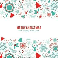 Christmas Card Template Psd Blue Greeting Card Template Cards