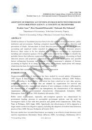 Adoption Of Forensic Accounting In Fraud Detection Process By Anti