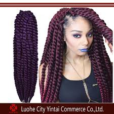 Twist Braids Hair Style havana mambo twist crochet braid hair synthetic kinky twist hair 4926 by wearticles.com