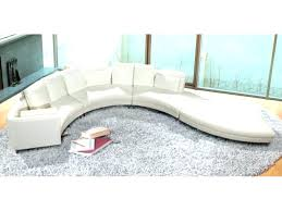 rounded leather sectionals round sectional curved circular sofa sofas couches for brown couch sal