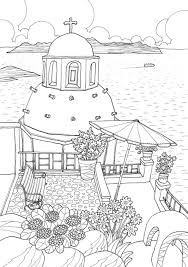 coloring europe magical greece a coloring book tour of greek lifestyle and culture il sun lee 9781626923980 amazonsmile books
