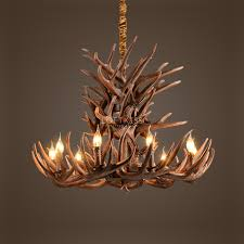 full size of lighting magnificent faux deer antler chandelier 13 33 vintage style resin horn 9