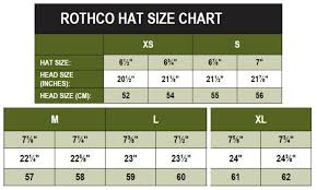Military Hat Size Chart Hat Size Chart Hat Sizes Size Chart