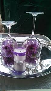 Brilliant Wine Glass Wedding Centerpieces Wine Glass Centerpieces Glass  Centerpieces And Centerpiece
