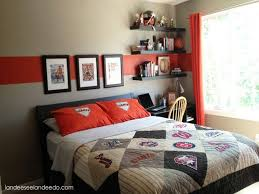 Red And Grey Bedroom Awesome Red Black And Gray Boys Bedroom Design Ideas