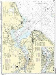 Noaa Chart Ashland Washburn Harbors Chequamegon Bay Wi