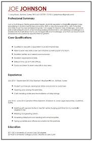 Cv Example For Law Students Curriculum Vitae Builder Example Law Graduate  Resume