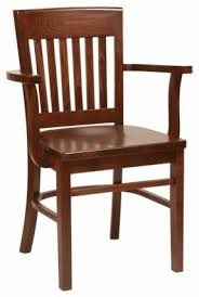 wooden chair with arms. brinto dark wooden chair with arms foter