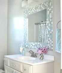 diy mosaic tile bathroom mirror