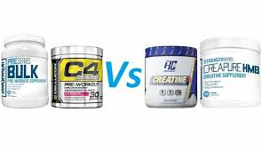 creatine vs pre workout supplements