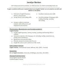 resume samples for teachers     Resume Cv