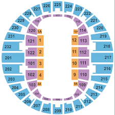 Norfolk Scope Seating Chart For Wwe Scope Arena Seating Chart Norfolk