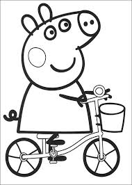 Small Picture Kids n funcom 20 coloring pages of Peppa Pig