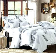 grey and white duvet cover grey bedding black and white bedding set feather duvet cover queen
