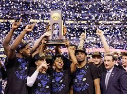 Duke Wins Ncaa Mens Basketball Championship Sports
