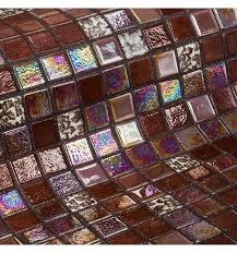 <b>Стеклянная мозаика Ezarri Topping</b> Choco bits 31,3х49,5 см | www ...