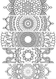 Small Picture 5 BookmarksPrintable bookmarks Instant Download PDF Mandala