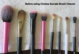 cinema secrets brush cleaner review