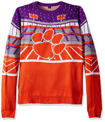 Minnesota Vikings Light Up Sweater Amazon Com Foco Ncaa Clemson Tigers Mens Light Up