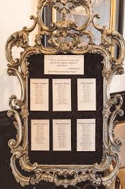 Picture Frame Seating Chart Picture Of The Wedding Seating Chart Was Very Elegant In A