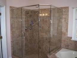magnificent tile corner shower for bathroom decoration design amusing picture of bathroom decoration using light