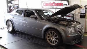 500 Horsepower 2006 Chrysler 300 SRT8 Dyno Pull at CarbConn - YouTube