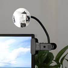 desk rear view mirror. Unique Mirror Amazoncom Clip On Cubicle Mirror Computer Rearview Convex Mirror  For Personal Safety Or Security Cabinet Desk Rear View Monitors 335 Intended I
