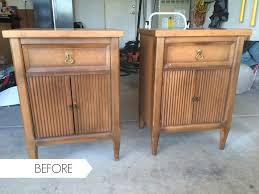 old furniture makeover. Bedside Table Ideas, Painting Side Tables, Distressing Nightstands, Furniture Makeover Before Old R