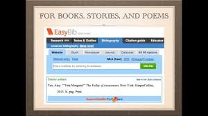 Creating Your Works Cited Page Books Stories Poems And Songs