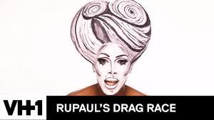 drag makeup tutorial nina s black white 3d glamour rupaul s drag race season 9 now on vh1 viral legends