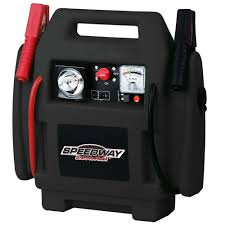 sdway emergency car jump starter and compressor with rechargeable battery