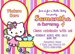 Hello Kitty Party Invitation Hello Kitty Party Invitation Templates Major Magdalene
