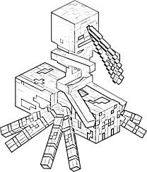 Minecraft coloring pages, a large collection for free printing. Minecraft Coloring Pages Print Them For Free 100 Pictures From The Game