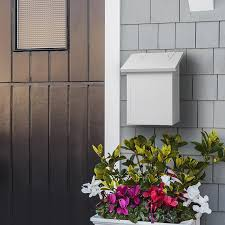 wall mount mailbox traditional mailbox