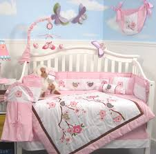 Amazoncom Soho Love Birds Story Baby Crib Nursery Bedding Set ...
