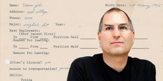 Read Steve Jobs' Job Application From 3 Years Before He Cofounded ...