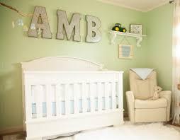 Baby Monogram Wall Decor Monogram Wall Art Tags Project Nursery