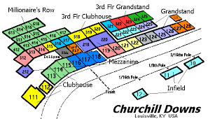 Churchill Downs Louisville Ky Landrys Tickets Seating