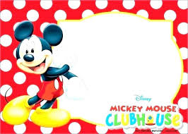 Make Your Own Mickey Mouse Invitations Free Customizable Minnie Mouse Birthday Invitations Packed With Baby