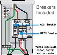 gfci wiring diagrams wiring diagram and schematic design in line gfci receptacle wiring diagrams base
