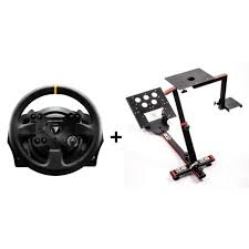 thrustmaster volant tx racing wheel leather edition pc xbox one 69db support wheel stand evo offert